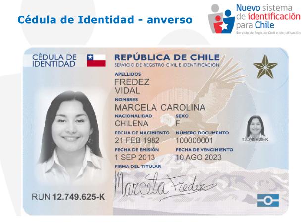 Nueva Cedula De Identidad Y Pasaporte Incorporan Tecnologia De Punta
