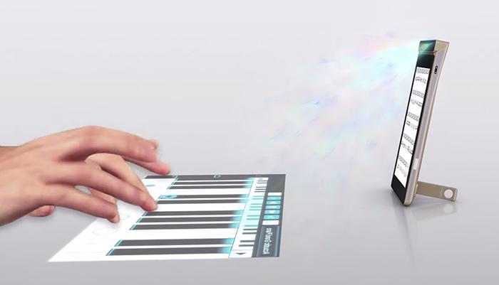 Prototipo SmartCase de Lenovo