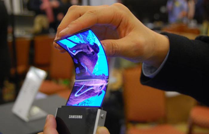 Prototipo pantalla flexible de Samsung