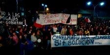 Protestas mantienen paralizados envíos de salmón desde Chiloé