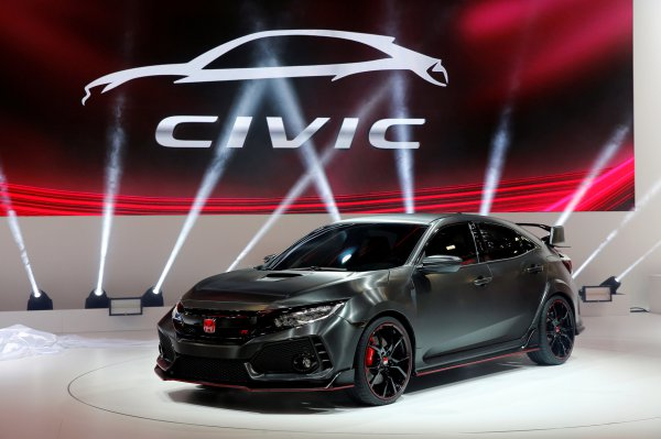 Prototipo Honda Civic Type R - REUTERS