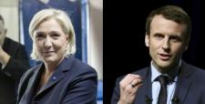 Le Pen y Macron disputarán la presidencia de Francia tras reñida batalla en primera vuelta