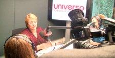df.cl - Diario Financiero Online - Bachelet por informe de productividad: 'No creo' que reforma de pensiones reduzca 394 mil empleos