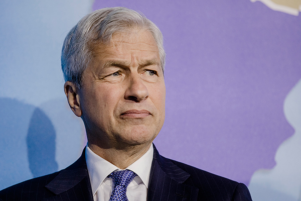 Jamie Dimon, Ceo de JPMorgan. Bloomberg