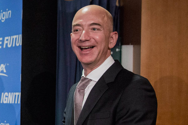 Jeff Bezos, CEO y fundador de Amazon
