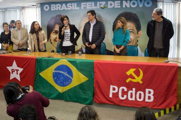 Brasil bolsa y real caen por avance de la izquierda - Diario Financiero