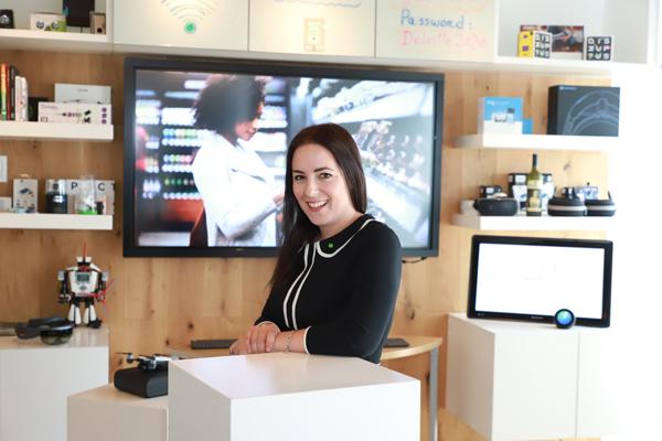 Shelby Austin, Líder de Omnia AI de Deloitte para Canadá y Chile. Foto: Rodolfo Jara