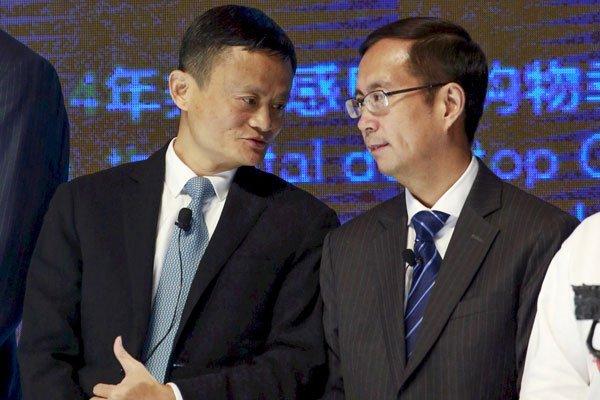 """Ma destacó el """"excelente talento"""" de Zhang, además de su perspicacia para los negocios. Foto: Reuters"""