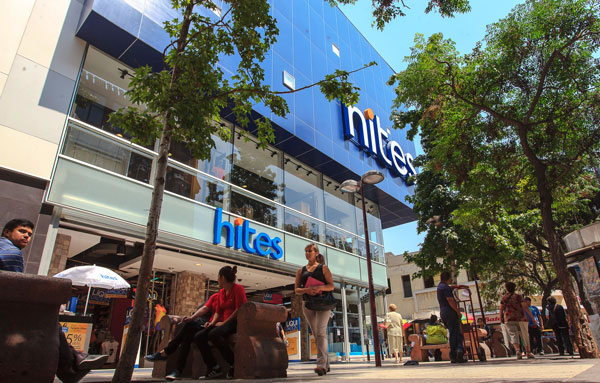 La compañía nació en 1954, con un primer local en el centro de Santiago. Recién en 1990 se lanza al negocio financiero con la Tarjeta Hites. Foto: Rodolfo Jara
