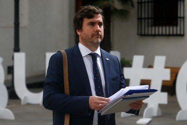 El ministro (s) de Hacienda, Francisco Moreno.