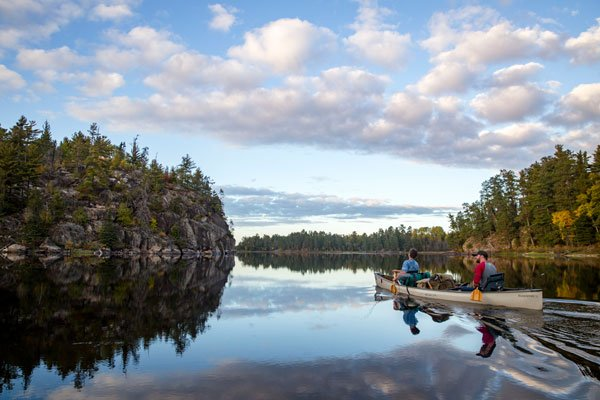 Boundary Waters es el área silvestre más visitada de EEUU, según Northeastern Minnesotans for Wilderness. Foto: Adam-Stanzak