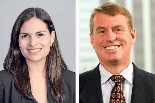 Ariane Ortiz-Bollin, Moody's. Richard Francis, Fitch Ratings.