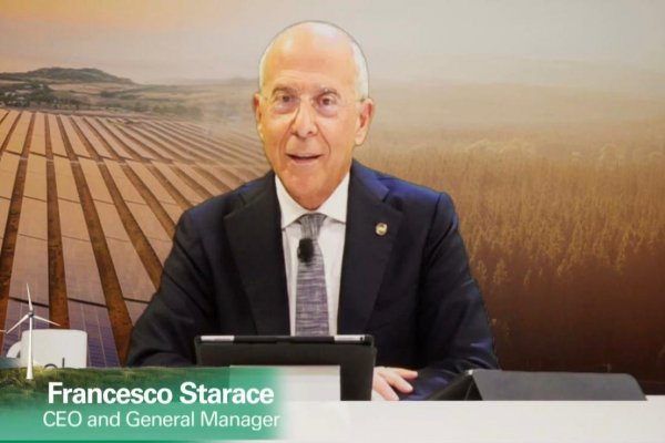 Francesco Starace, CEO de Enel, en el Capital Markets 2020.